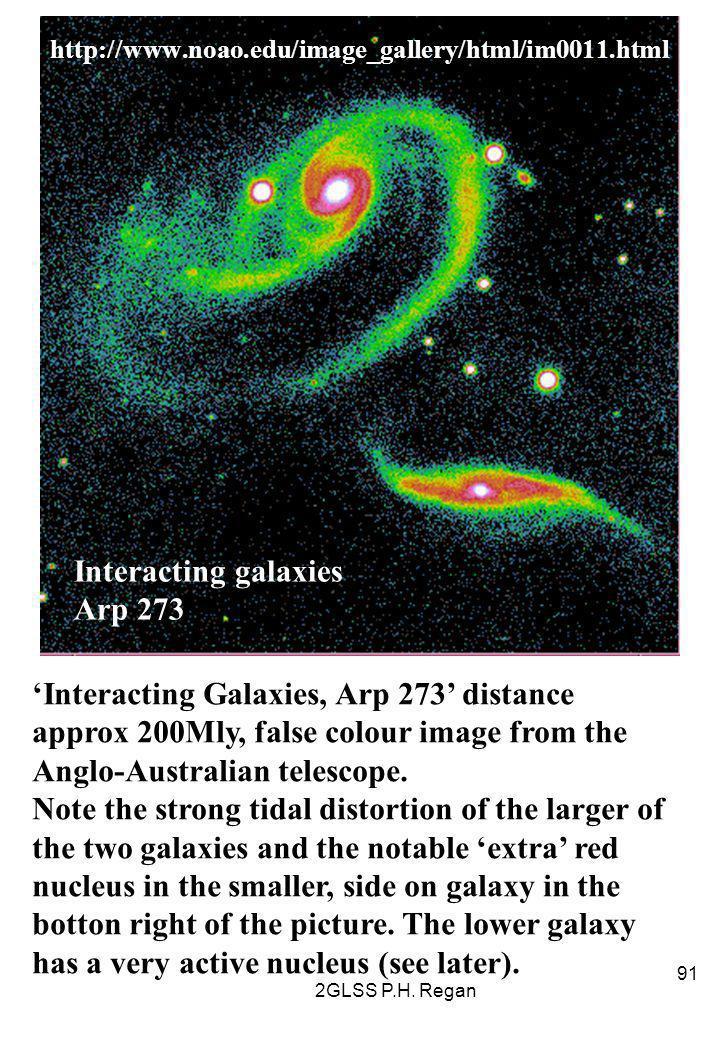 2GLSS P.H. Regan 91 http://www.noao.edu/image_gallery/html/im0011.html Interacting galaxies Arp 273 'Interacting Galaxies, Arp 273' distance approx 20