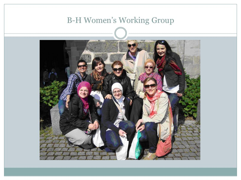 B-H Women's Working Group