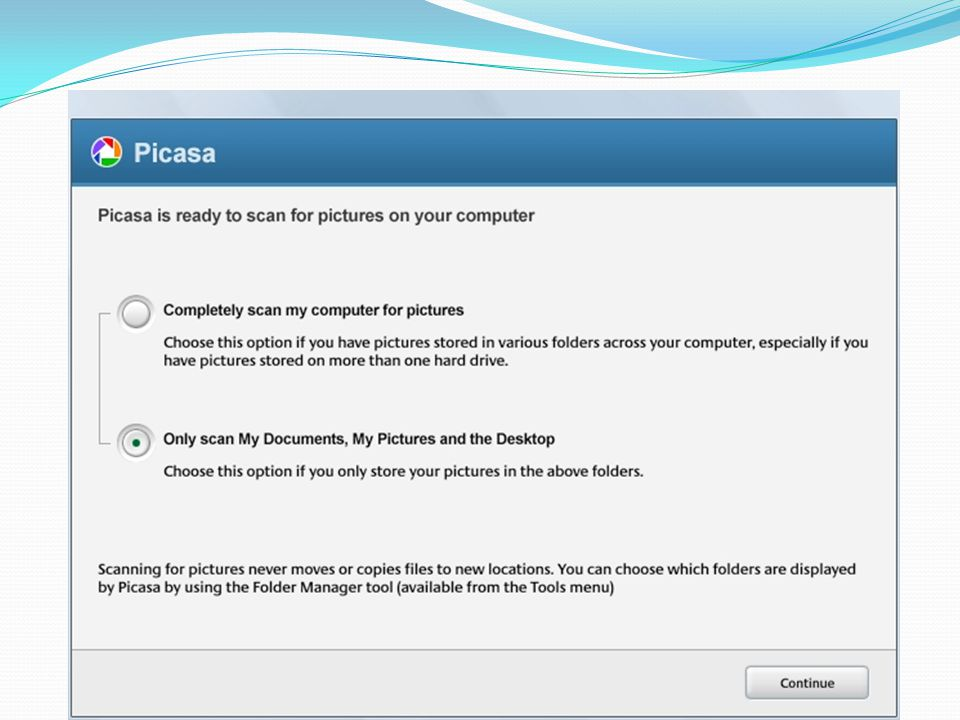 Picasa provides you with a Gigabyte of storage space for your Web Albums.