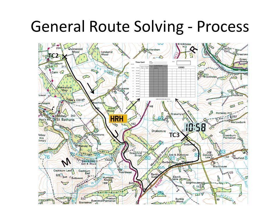 General Route Solving - Process TC2 TC3