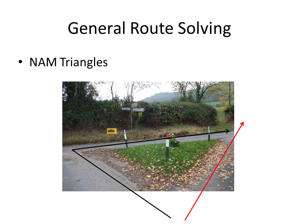 General Route Solving NAM Triangles