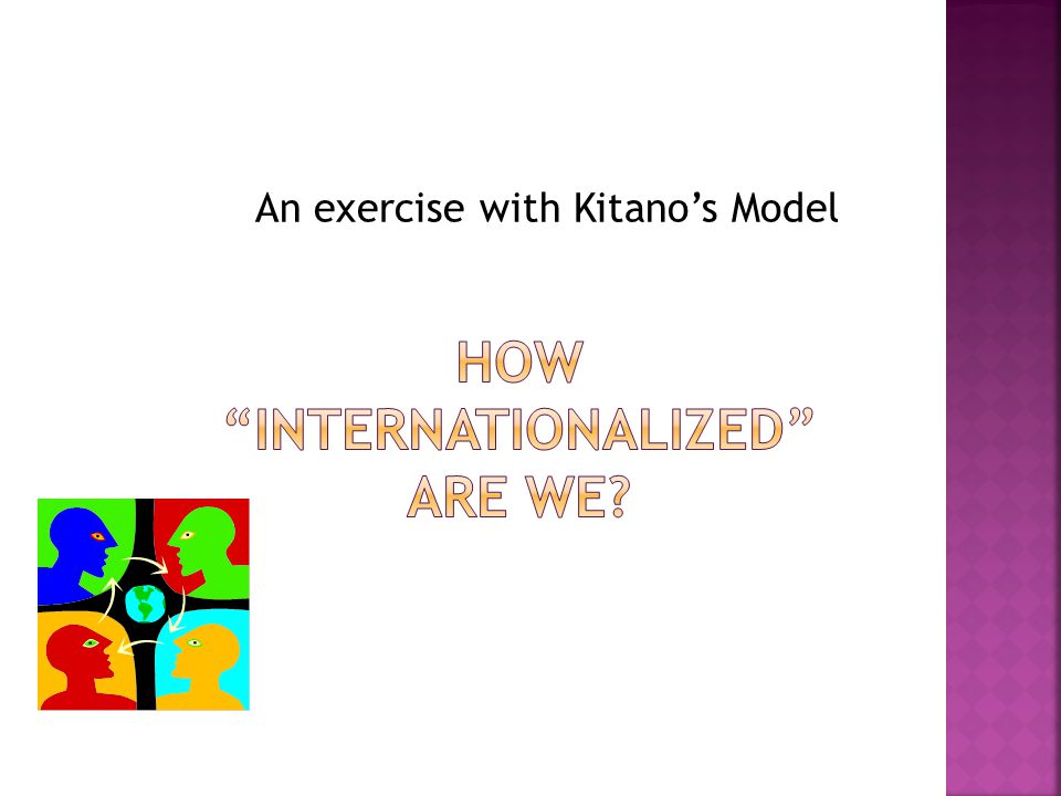 An exercise with Kitano's Model