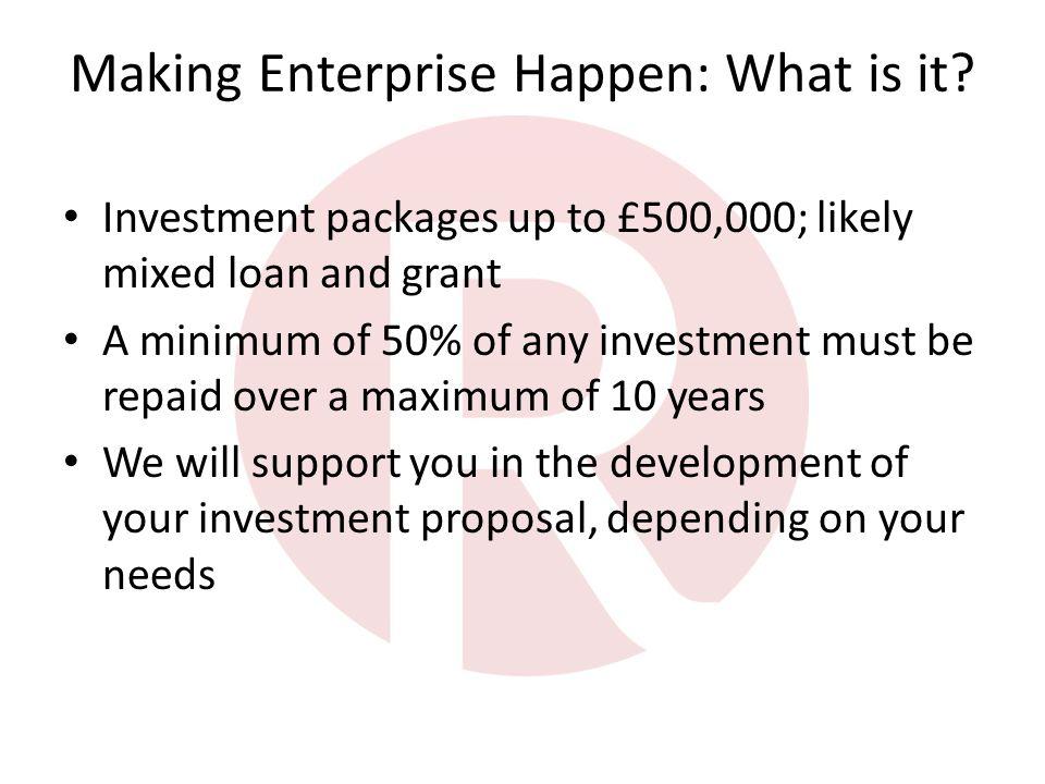 Making Enterprise Happen: What is it.