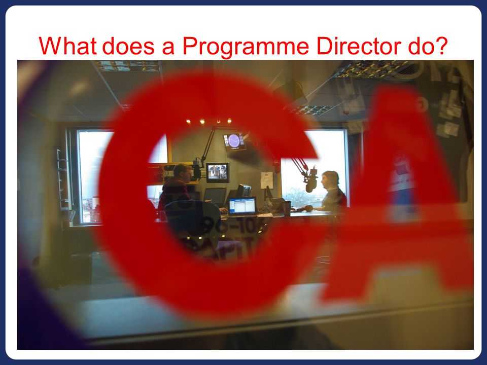 What does a Programme Director do.