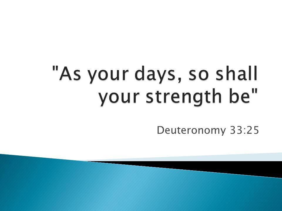 Deuteronomy 33:25
