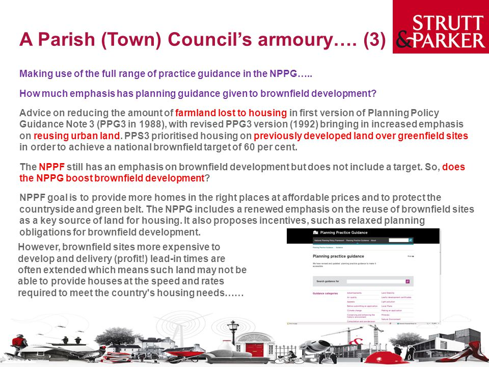 A Parish (Town) Council's armoury….