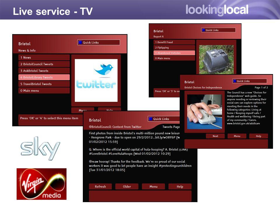 Live service - TV