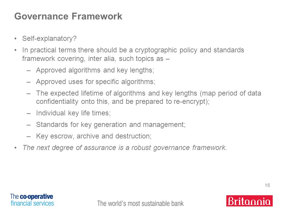 16 Governance Framework Self-explanatory.