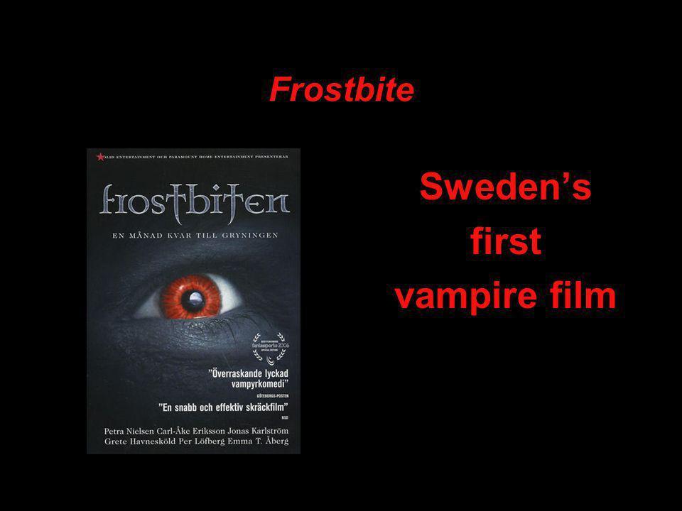 Frostbite Sweden's first vampire film