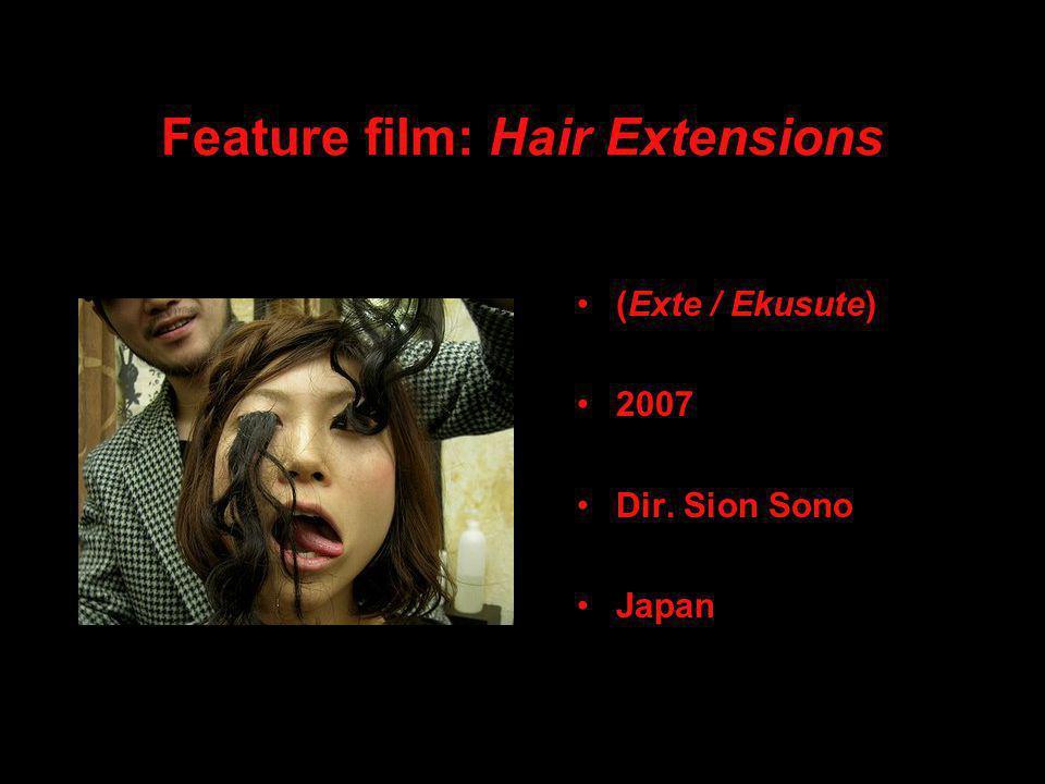 Feature film: Hair Extensions (Exte / Ekusute) 2007 Dir. Sion Sono Japan