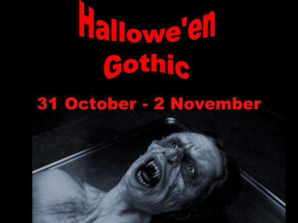 31 October - 2 November