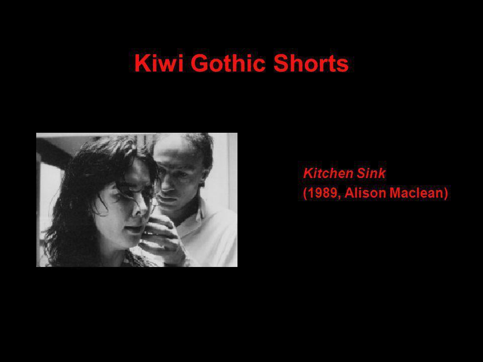 Kiwi Gothic Shorts Kitchen Sink (1989, Alison Maclean)