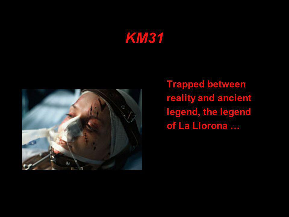 KM31 Trapped between reality and ancient legend, the legend of La Llorona …