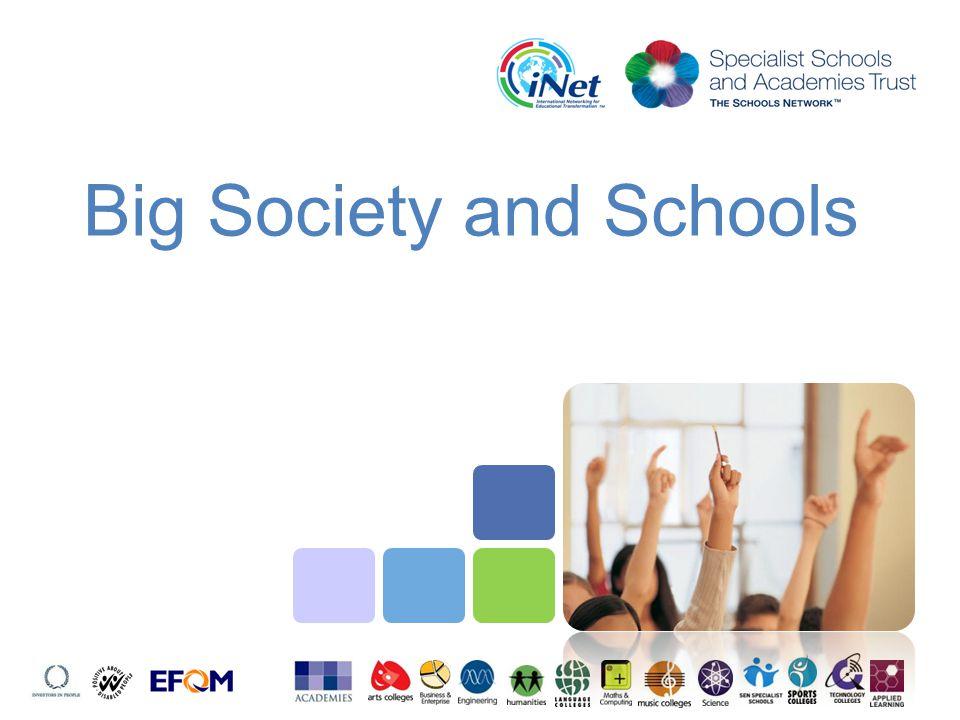 Big Society and Schools