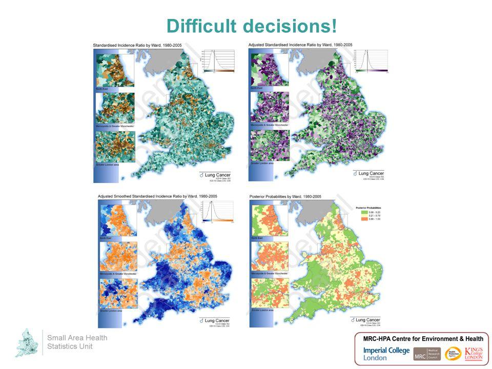 Difficult decisions!