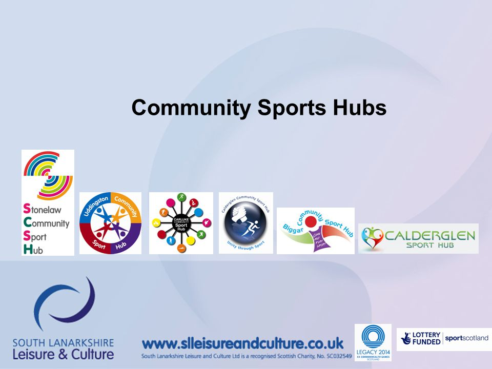 What is a Community Sport Hub.