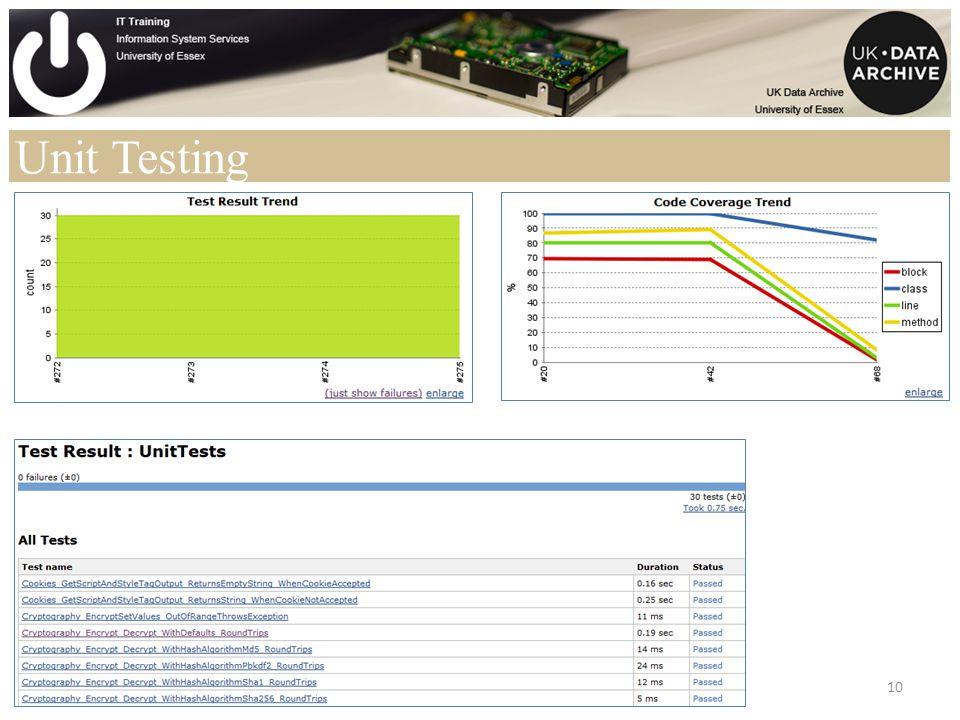 Unit Testing 10