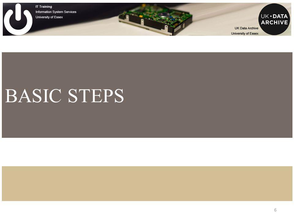 6 BASIC STEPS