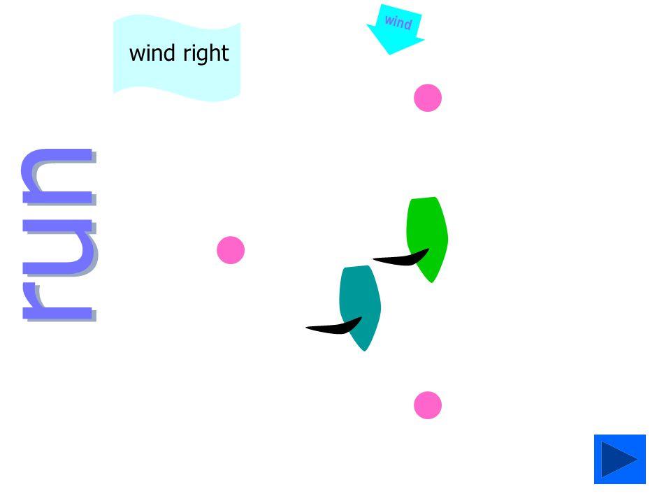 run wind wind left