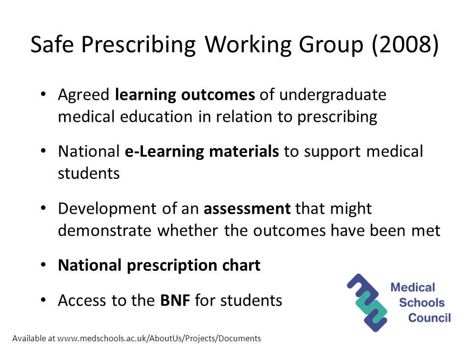 www.prescribe.ac.uk/psa
