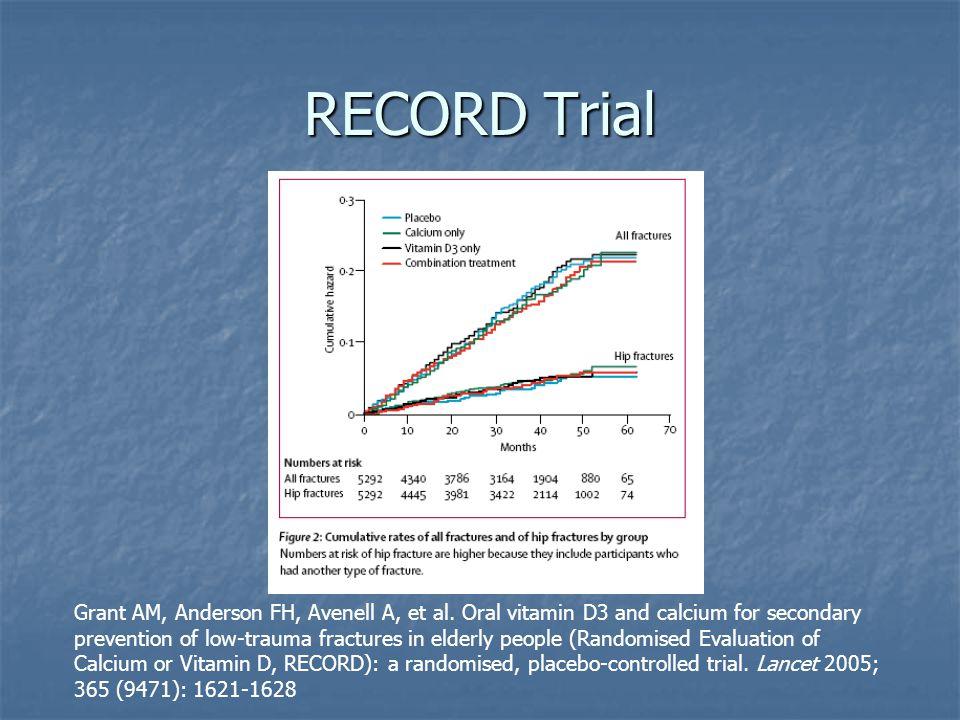 RECORD Trial Grant AM, Anderson FH, Avenell A, et al.