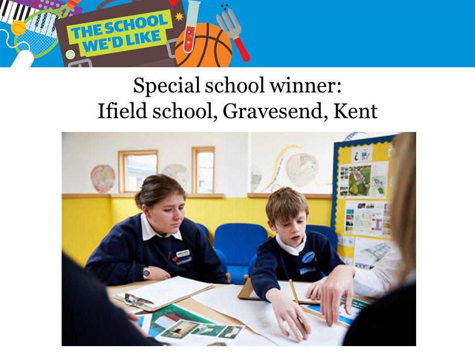 Special school winner: Ifield school, Gravesend, Kent