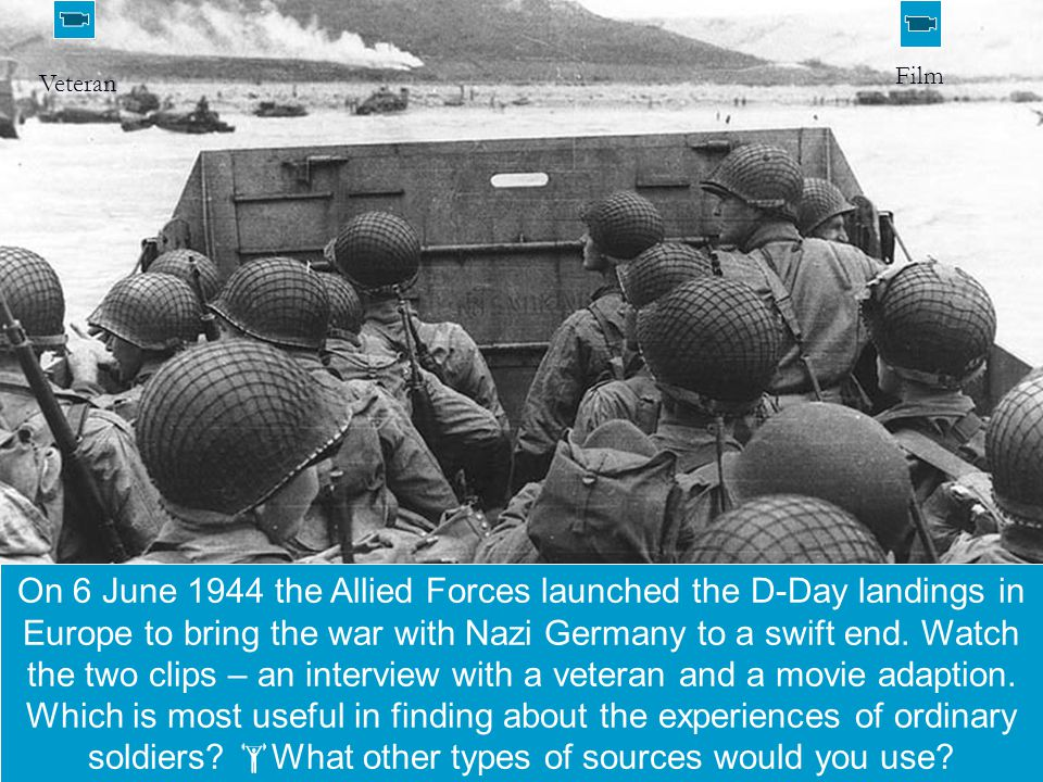Could you manage to stage your own D-Day.