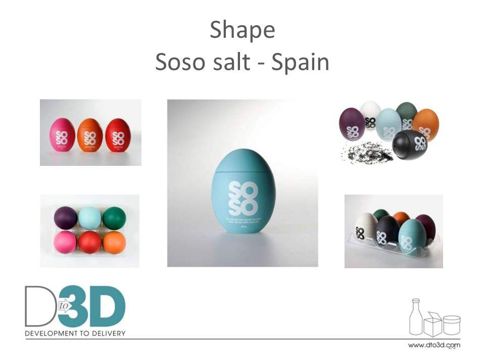 Shape Soso salt - Spain 21