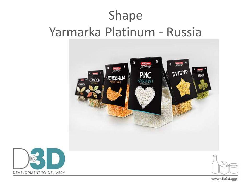 Shape Yarmarka Platinum - Russia 22