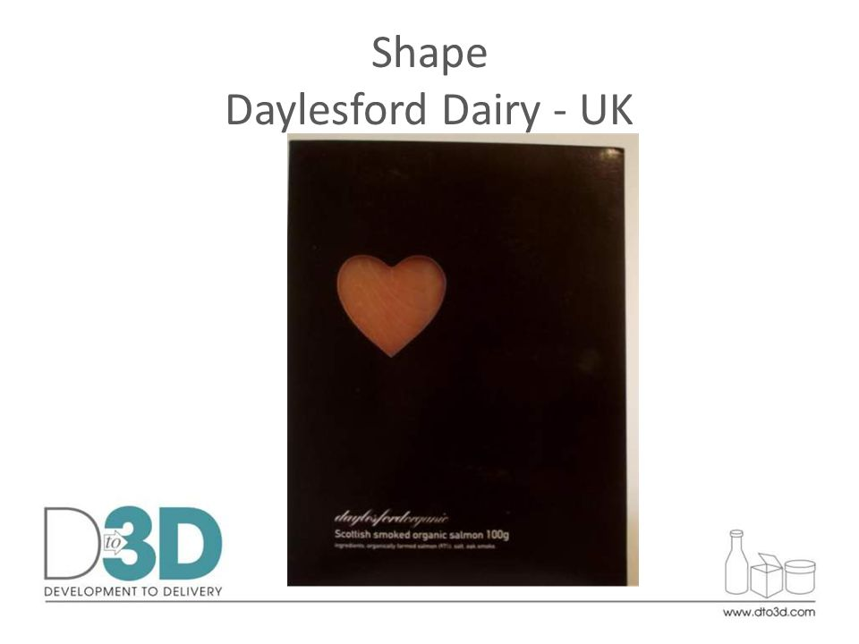 Shape Daylesford Dairy - UK