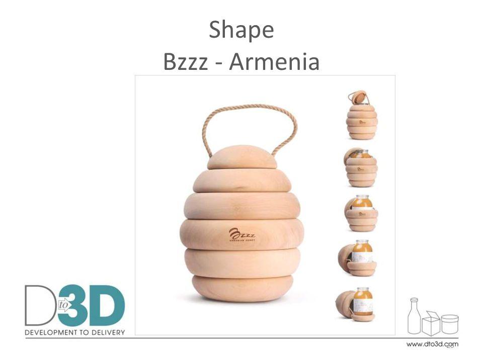 25 Shape Bzzz - Armenia
