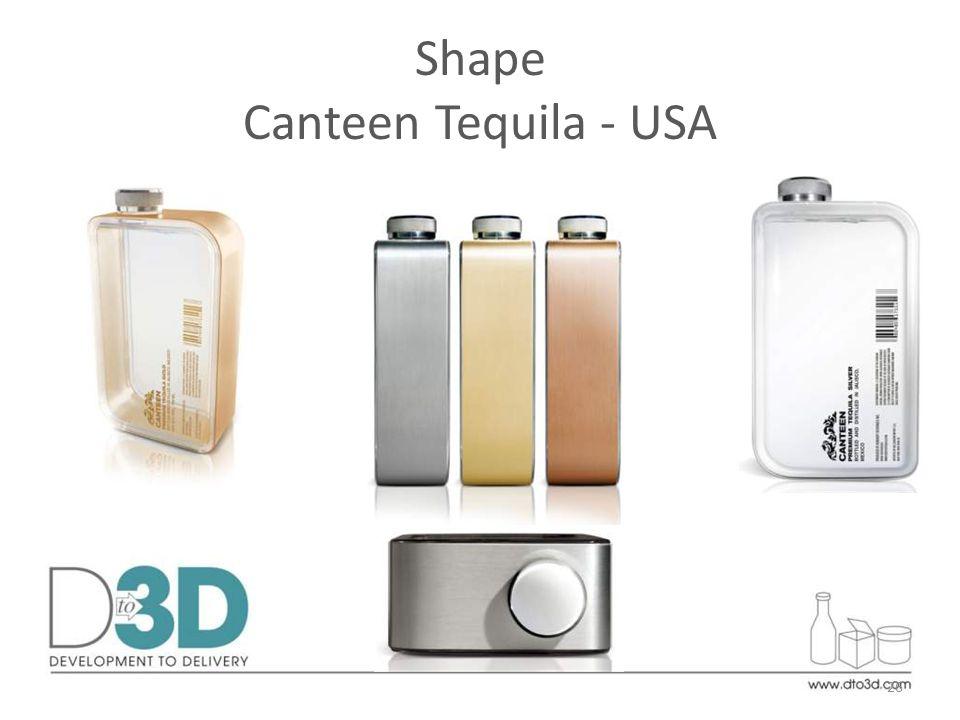 Shape Canteen Tequila - USA 26