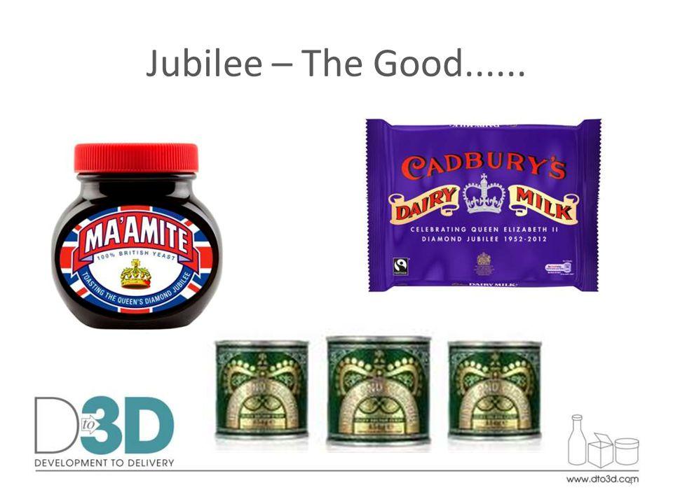 Jubilee – The Good...... 4