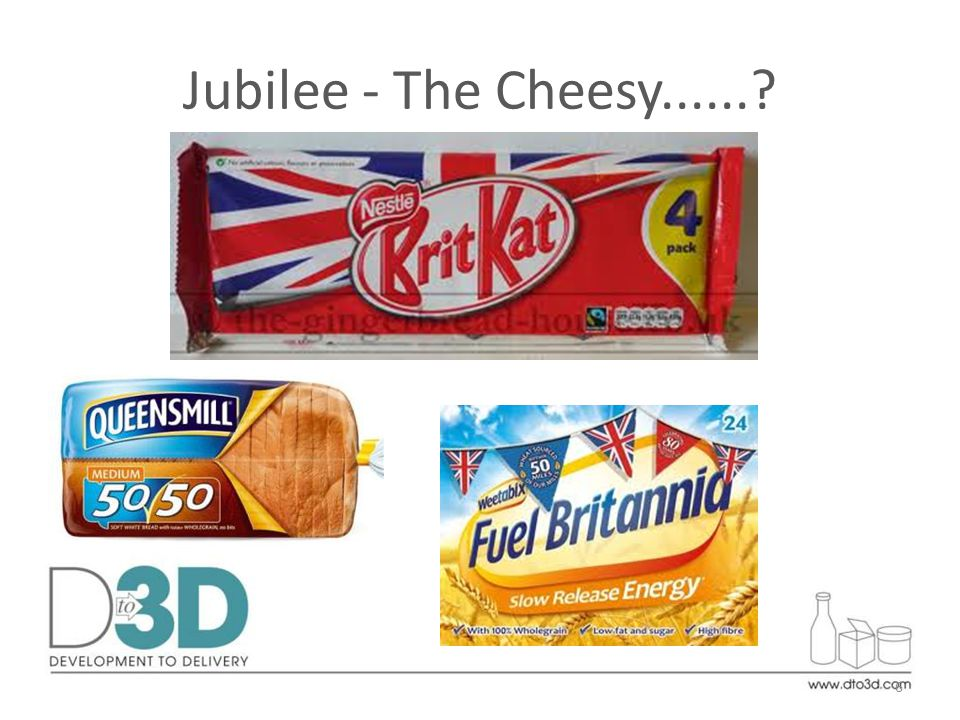 Jubilee - The Cheesy......? 6