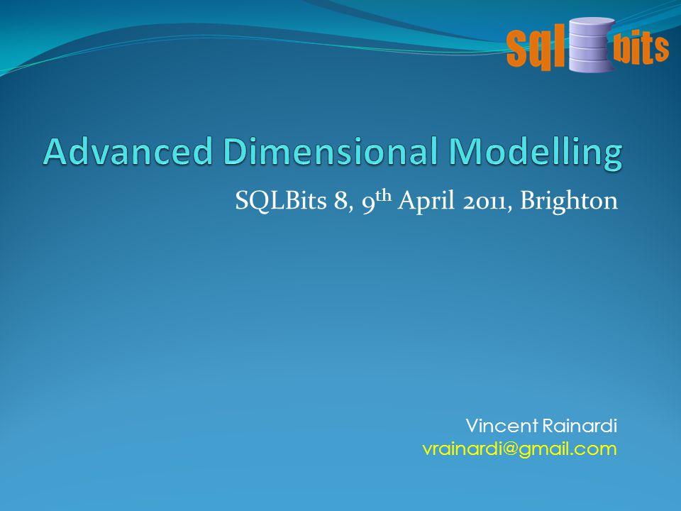 Advanced Dimensional Modelling 1.