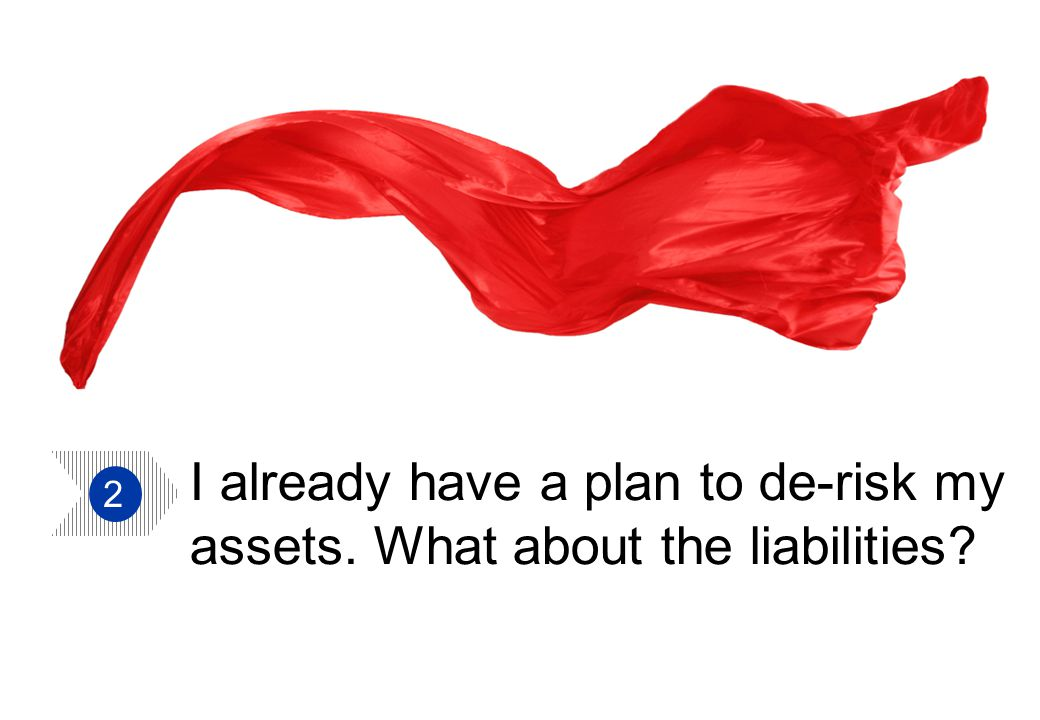 Aon Hewitt   TUC Trustee Conference 14 I already have a plan to de-risk my assets.