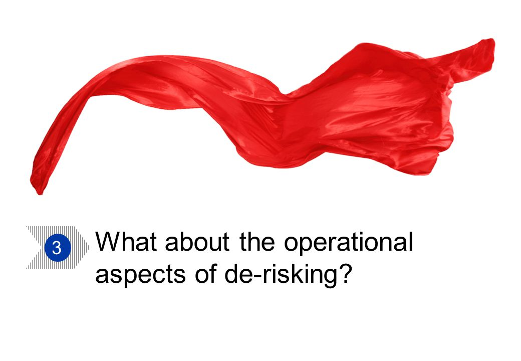 Aon Hewitt | TUC Trustee Conference 20 What about the operational aspects of de-risking 3