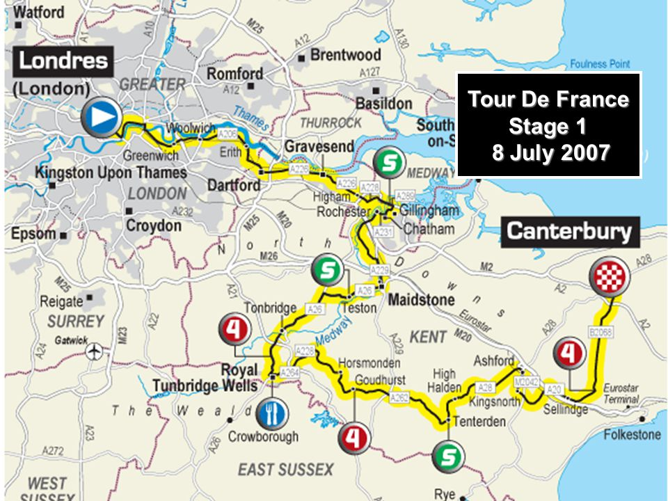 Tour De France Stage 1 8 July 2007 8 July 2007