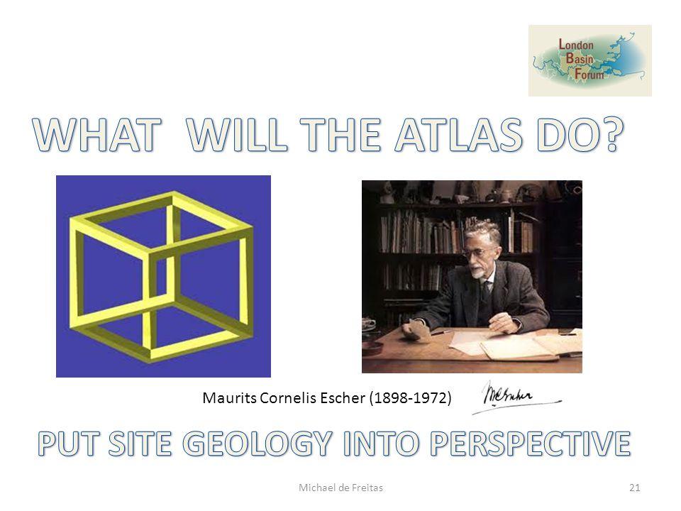 Maurits Cornelis Escher (1898-1972) 21Michael de Freitas