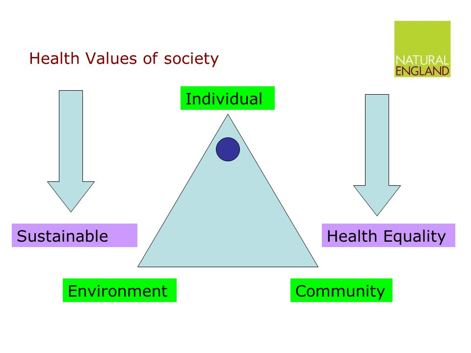 The NHS and Natural England Relevance –Include physical activity in the QOF.