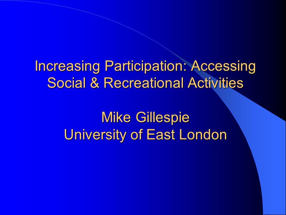 RecreationRehabilitation