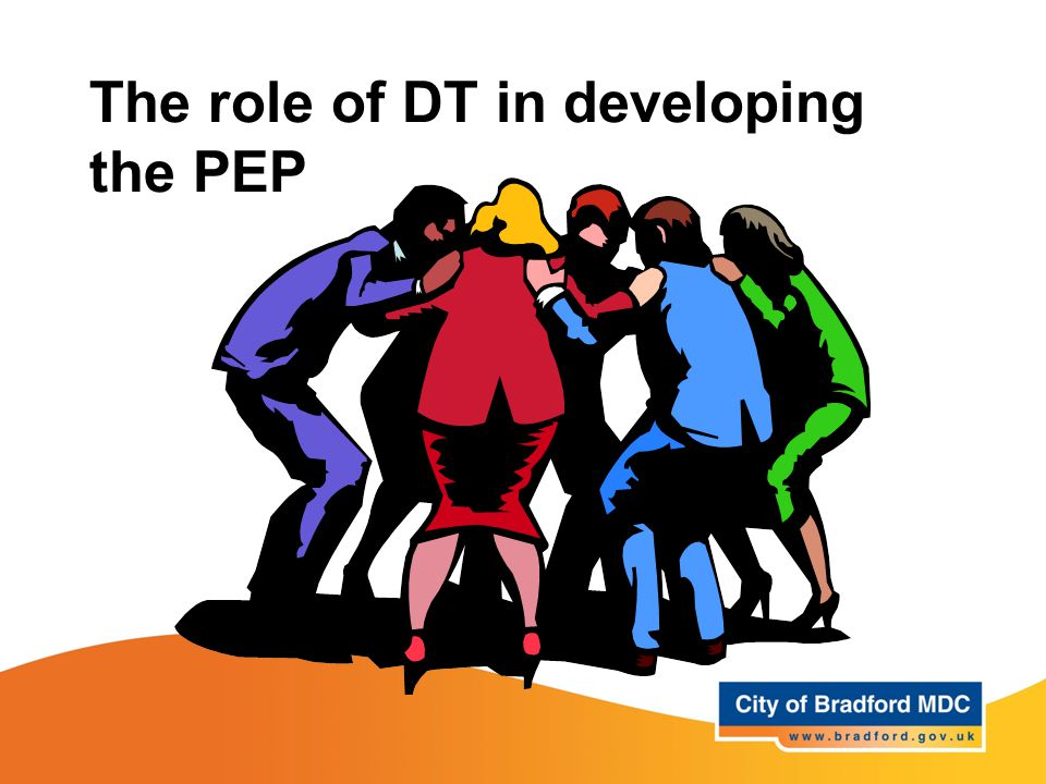 The role of DT in developing the PEP
