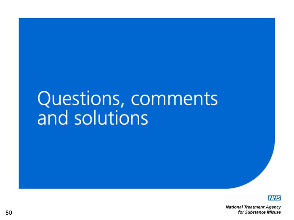 50 Questions, comments and solutions