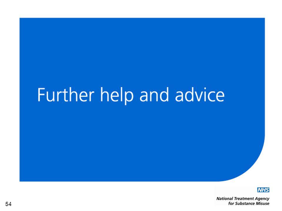 55 Contact NTA regional team for help and advice www.nta.nhs.uk/TOP