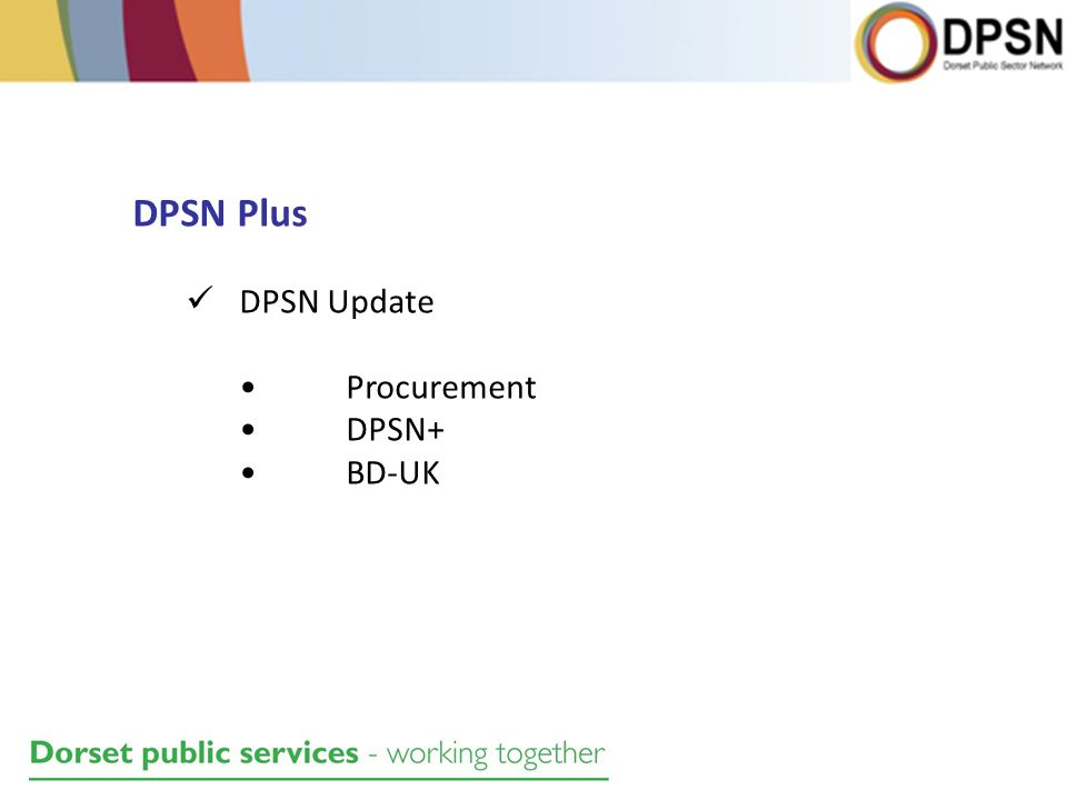 DPSN Plus DPSN Update Procurement DPSN+ BD-UK