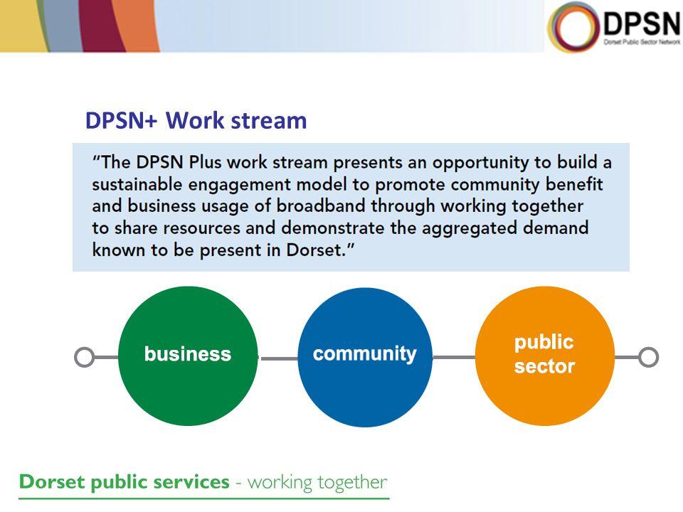 DPSN+ Work stream