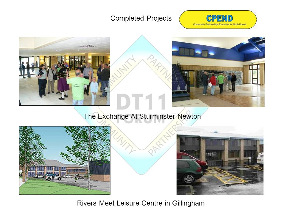 Completed Projects The Exchange At Sturminster Newton Rivers Meet Leisure Centre in Gillingham