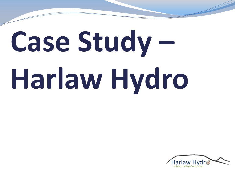 Case Study – Harlaw Hydro