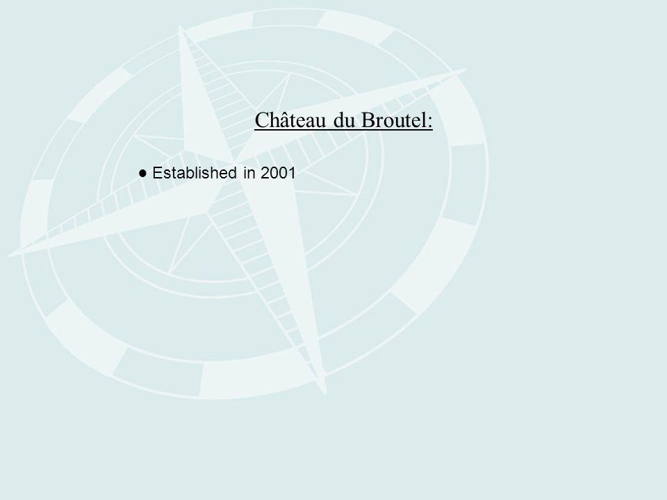 Château du Broutel: ● Established in 2001