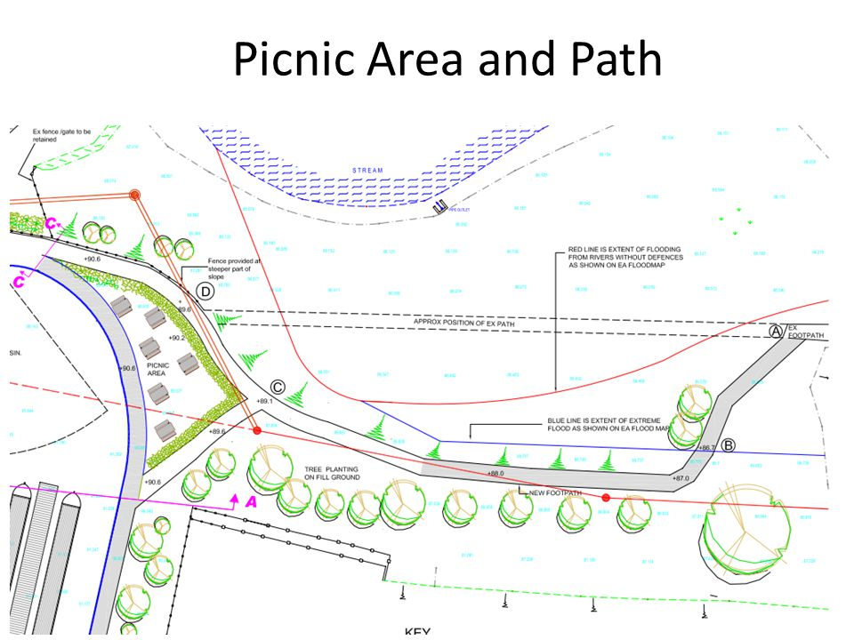 Picnic Area and Path